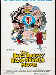 "Superstars collide in ""The Bugs Bunny/Road Runner Movie."""