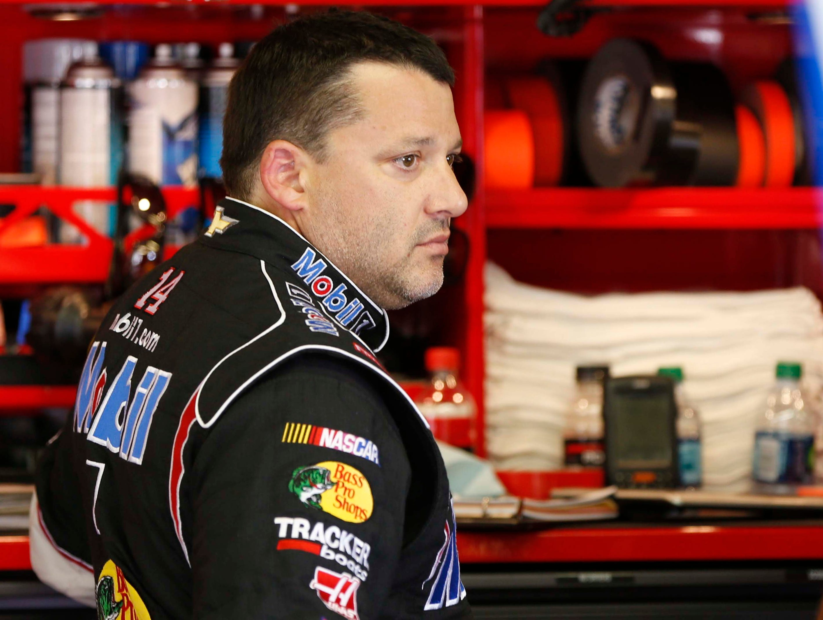 8-7-2013 tony stewart out