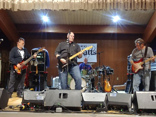 The Killa-Watts perform at a charity Casino in the
