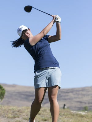 Celyn Khoo and the Wolf Pack are seventh after the first round of the Mountain West Championship.