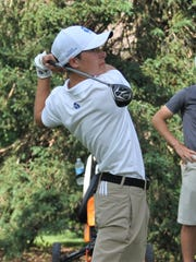 Catholic Central's Brendan Britz shot a 75 at the Dunham Hills regional.