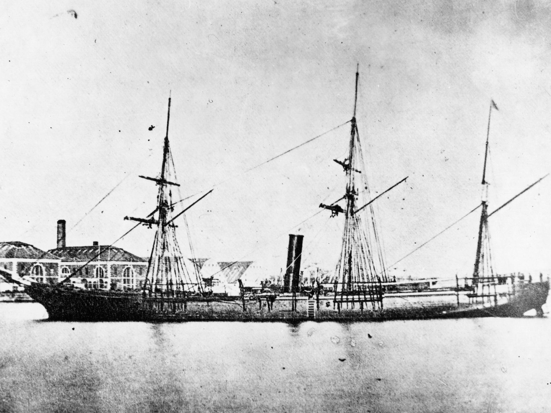 The six ships named USS Detroit