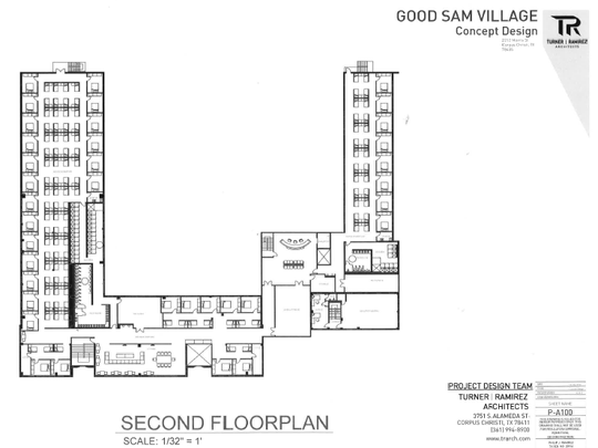 The Good Sam Village is a 100-bed expansion of the current shelter on Alameda Street. Good Sam's new home will be at 2212 Morris St., the site of the old Lamar Elementary School.