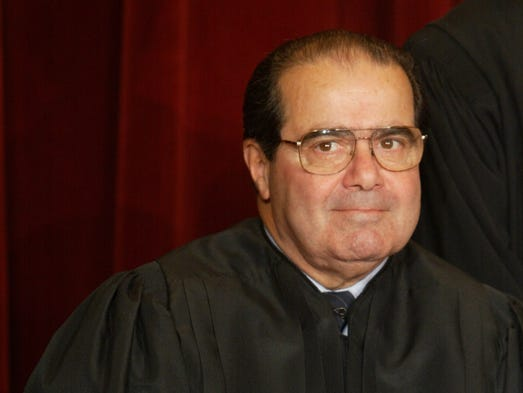 Associate Justice Antonin Scalia pictured in 2003.