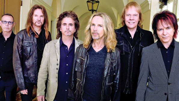"""Expect to hear """"Babe,"""" """"Mr. Roboto"""" and more when Styx blasts into town during October at The Pavilion."""