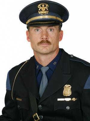 Michigan State Police First Lieutenant Joseph Shier, post commander of the Sault Ste. Marie Post and Newberry Detachment, as pictured.