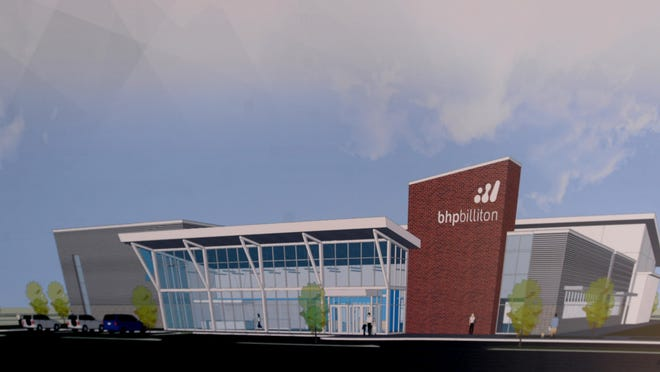 Architectural drawing of the new YMCA facility to be built near Clyde Fant and Preston.