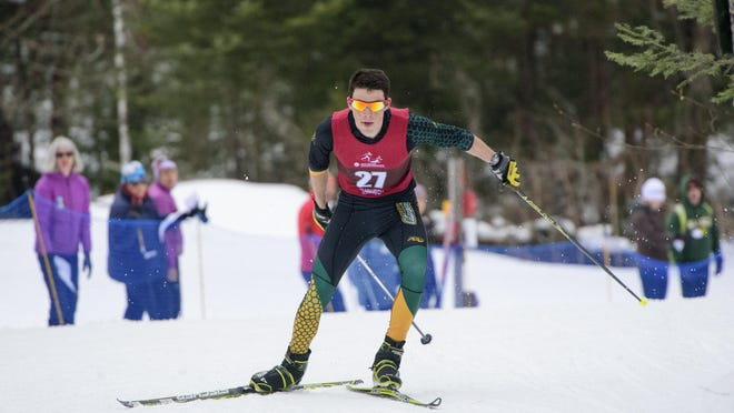 Jack Hegman, a Vermont native, shined on the EISA circuit this winter. He'll chase more honors at this week's NCAA championships for the Catamounts.