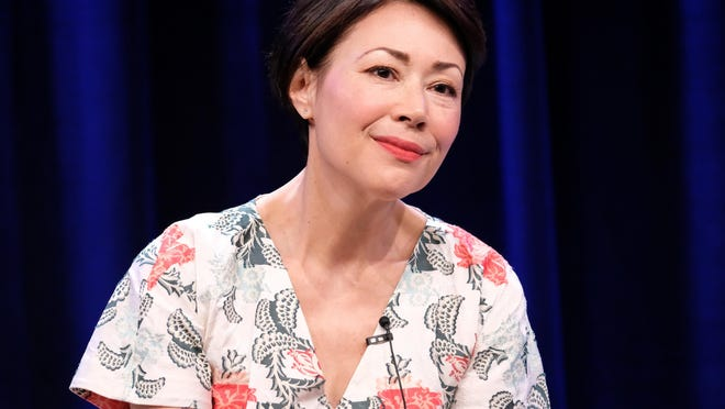 Executive producer/reporter Ann Curry of 'We'll Meet Again' speaks onstage during the PBS portion of the 2017 Summer Television Critics Association Press Tour at The Beverly Hilton Hotel on July 30.