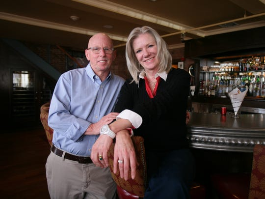 Jim Parker and his wife Mary Beth Dooley, the owners