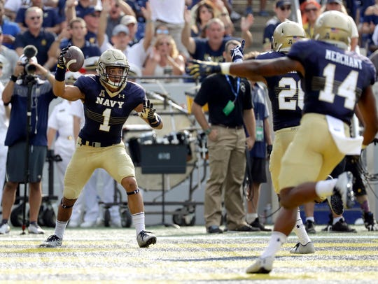 After sitting out last season, Navy transfer Alohi