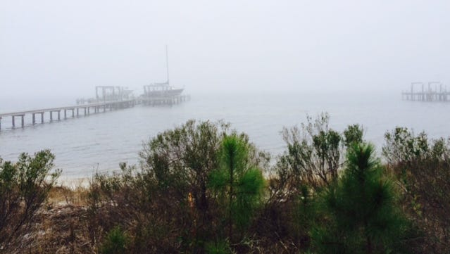 Fog continues to hamper search efforts Thursday morning at the crash site of the UH-60 Black Hawk helicopter.