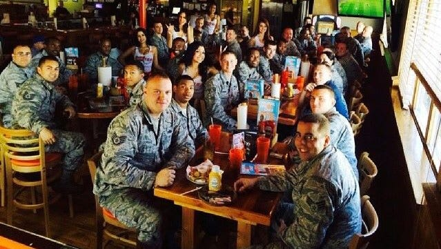 Veterans and active  military personnel can  eat for free at many establishments on Veterans Day.
