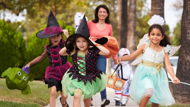 Trick-or-treating is a Halloween tradition that has roots in centuries-old European festivals.