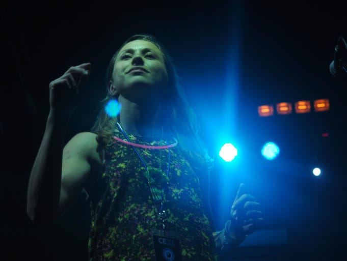 Singer and songwriter Abbie Sawyer joined The Euforquestra to bring funk and groove to a weekend of concerts  on July 11th of 2014 at the 11th Annual Camp Euforia in Lone Tree, Iowa.