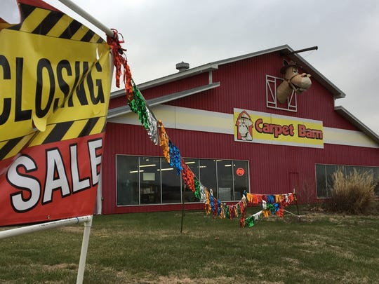 The family that owns the Carpet Barn on Highway 13 north of Springfield would like to wrap up the going-out-of-business sale by May 13.