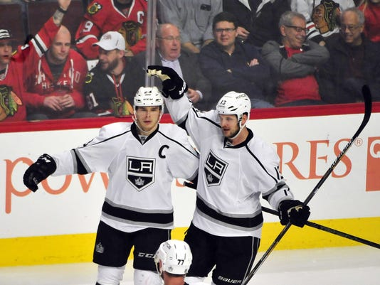 NHL: Los Angeles Kings at Chicago Blackhawks