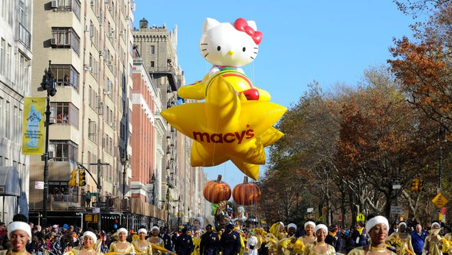 Last year's Macy's Thanksgiving Day parade in New York City on Nov. 22.