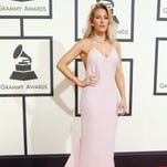 The breakout color of the Grammys red carpet: Pink