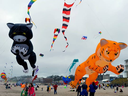 Lincoln City Fall Kite Festival, Oct. 1 and 2.