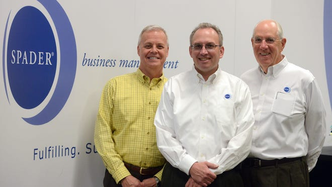Noel Lais, John Spader and Michael O'Connor serve as the executive team at Spader Business Management.