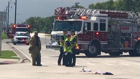 A teen was injured while riding his bike at Lennard Road and Walton Road in Port St. Lucie Aug. 31, 2017.