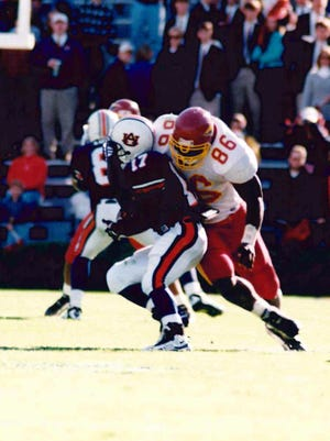 Foley's 18.5 sacks led the nation in 1997 and set many ULM records in the process.
