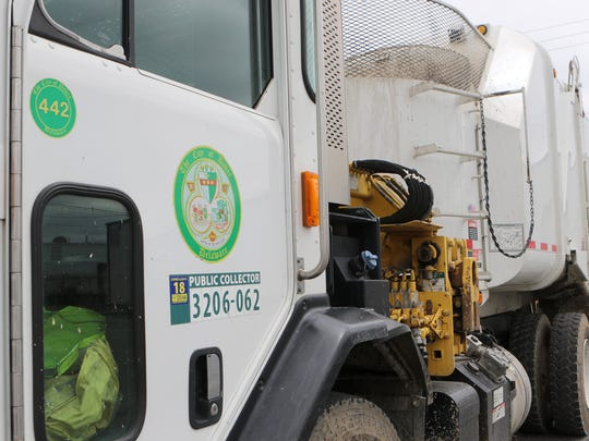 The City of Dover had to forego the purchase of two new sanitation vehicles because money from budget had to be diverted to help pay for fire and police protection in the city.