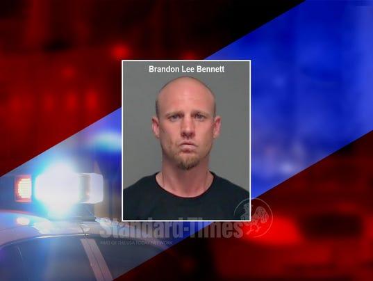 Mugshot of Brandon Lee Bennett