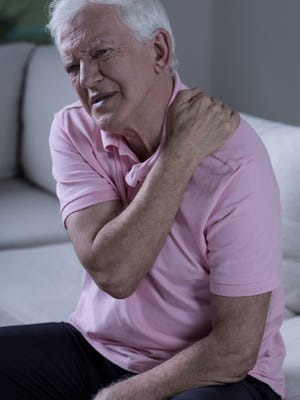 Most rotator cuff injuries occur in people over 40 with the risk increasing with age.