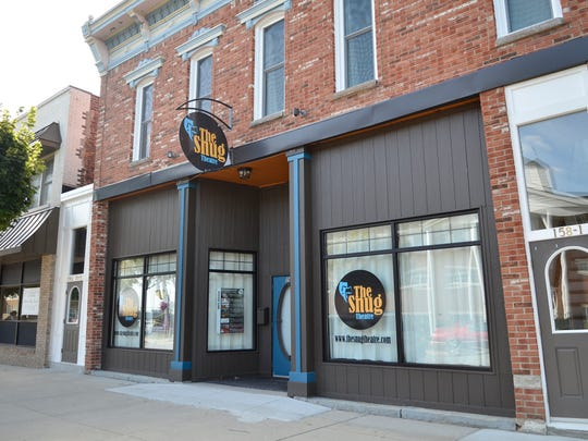 The Snug Theatre in Marine City has received a grant to improve its exterior.