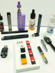 Vaping products that will be shown to parents at a