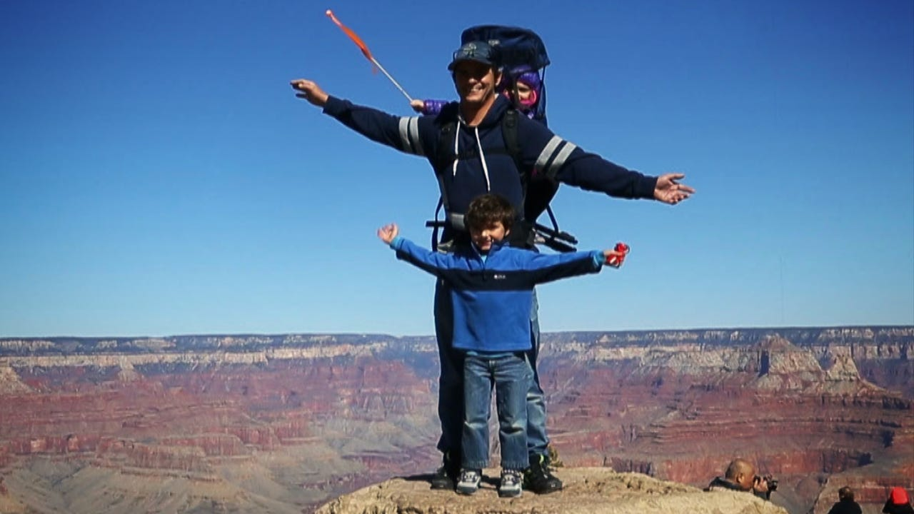 Take a walk back in time at Grand Canyon National Park. Video shot by Mark Henle, The Arizona Republic.