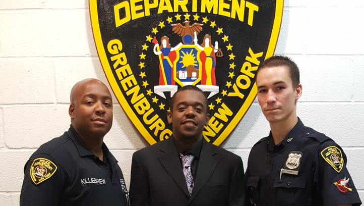 Youth Camp graduates, from left: Greenburgh Police
