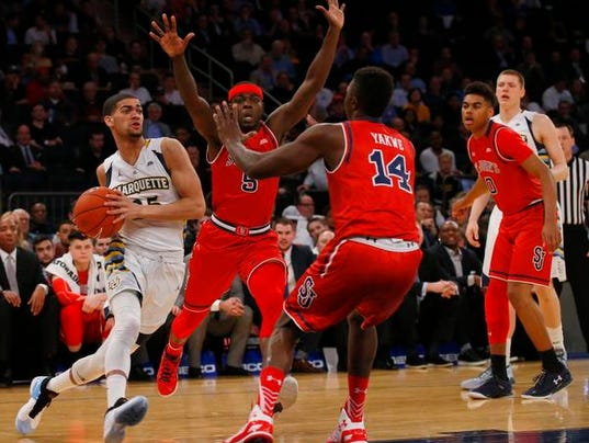 NCAA Basketball: Big East Conference Tournament-Marquette vs St. John's