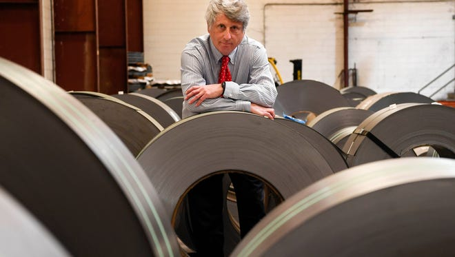 Stuart Speyer is president of Tennsco, a Dickson-based office cabinet maker that employs 700 people. He saidsteel costs have gone up as much as 140 percent in the last two years.