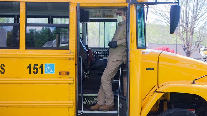 As state officials prepare to announce the reopening plan for North Carolina's public schools, some districts are worried they won't have enough bus resources if forced to operate buses at 50% capacity.