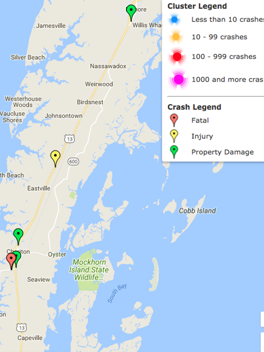 636377957986559914-Alcohol-related-crashes-in-Northampton-County-Virginia-in-2017-to-date.png