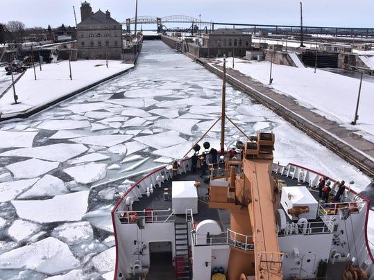 USCGC Mackinaw Soo Locks