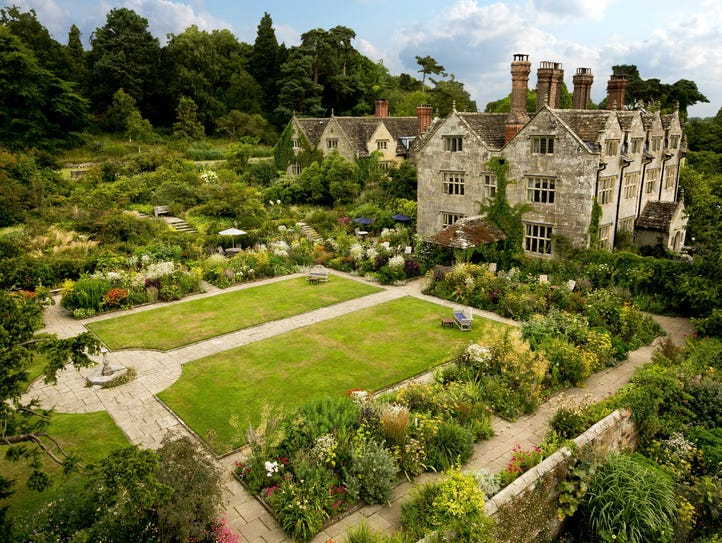 Gravetye Manor, East Grinstead, Sussex: An Elizabethan