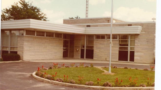 The Morenci Area Hospital and its main entrance are pictured in this photo. The hospital opened its doors to the Morenci community by the end of 1961.