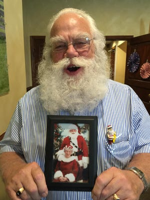 """""""Santa"""" Ron Halderman will suit up in his """"summer outfit"""" on July 26 for the conclusion of """"Christmas in July,"""" a collection of new toys for Rob's Kids and a dinner taking place at Colonial Cottage Inn."""