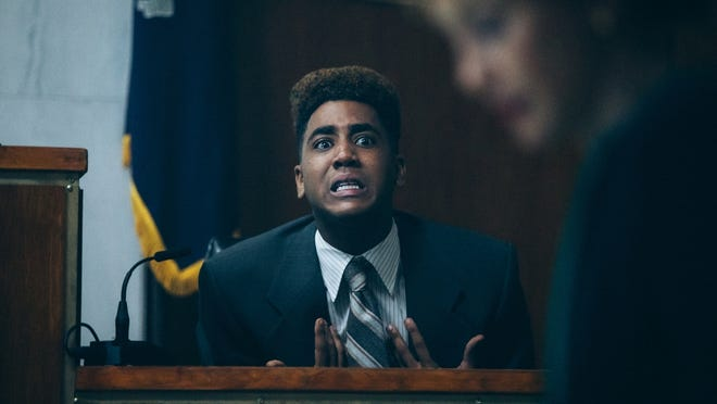 "Jharrel Jerome appears in ""When They See Us."""