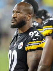 James Harrison was cut by the Steelers this week.