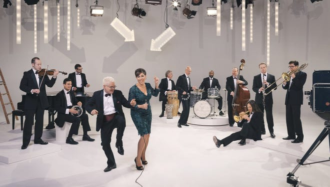 Pink Martini performs at the Pabst Theater Tuesday.