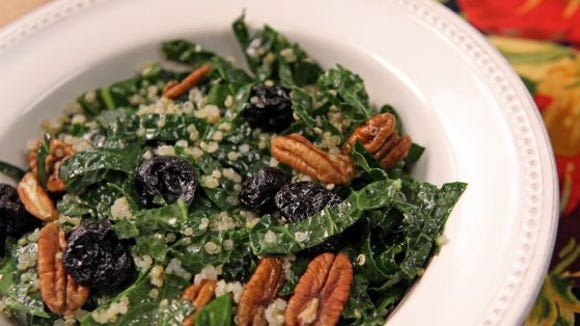 kale and quinoa salad recipe
