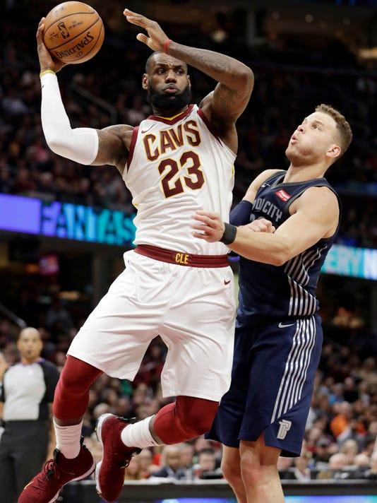 Blake Griffin, LeBron James
