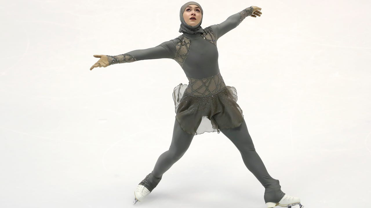 Its design is now being used by select Muslim women in the Persian Gulf  region's competitive sports scene.