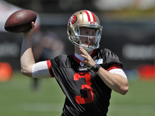 San Francisco 49ers quarterback C.J. Beathard during