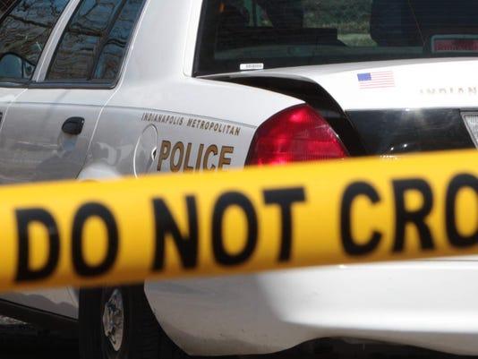 Indianapolis crime scene